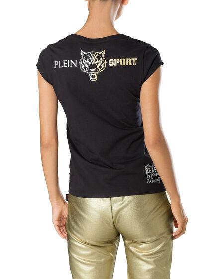 "T-shirt Round Neck SS ""Workout Pain"""
