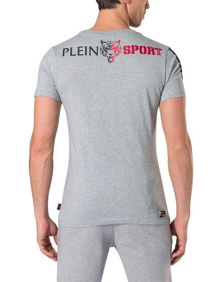 "T-shirt Round Neck SS ""Kick"""