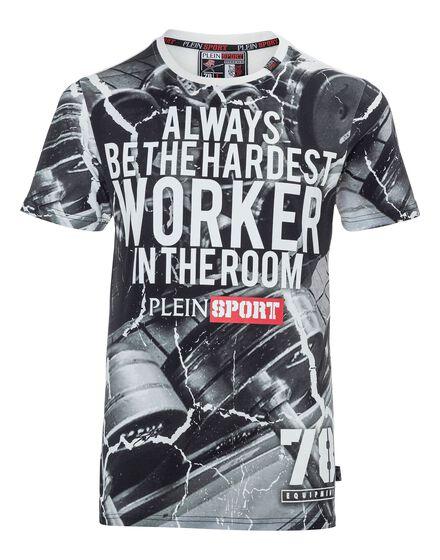 T-shirt Round Neck SS Moss