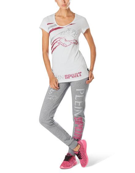 "T-shirt Round Neck SS ""Workout Step"""