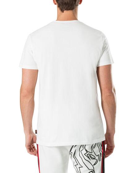 "T-shirt Round Neck SS ""Football"""