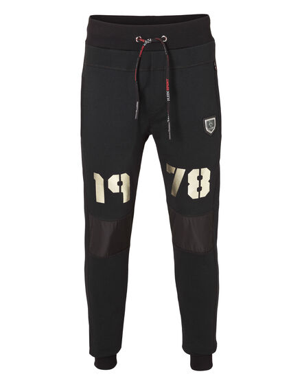 Jogging Trousers Gold Dirty