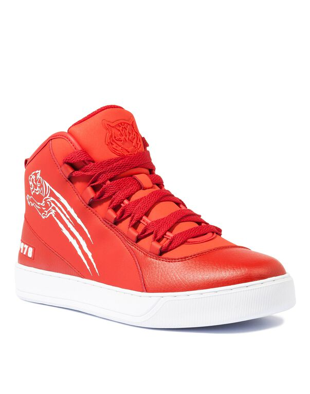 "Hi-Top Sneakers ""Alexander"""