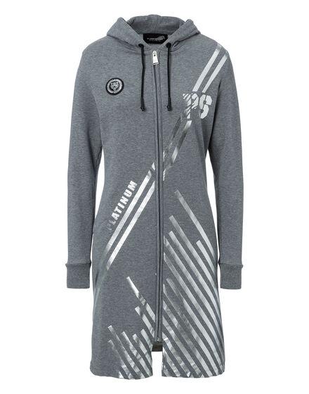 Hoodie Sweatjacket Pintail - P