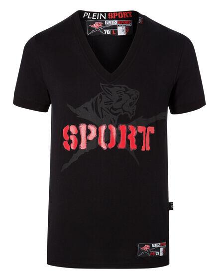 T-shirt V-Neck SS Gachou