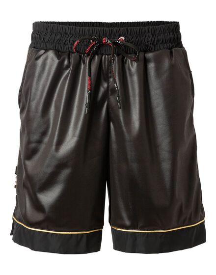 Jogging Shorts Gold black
