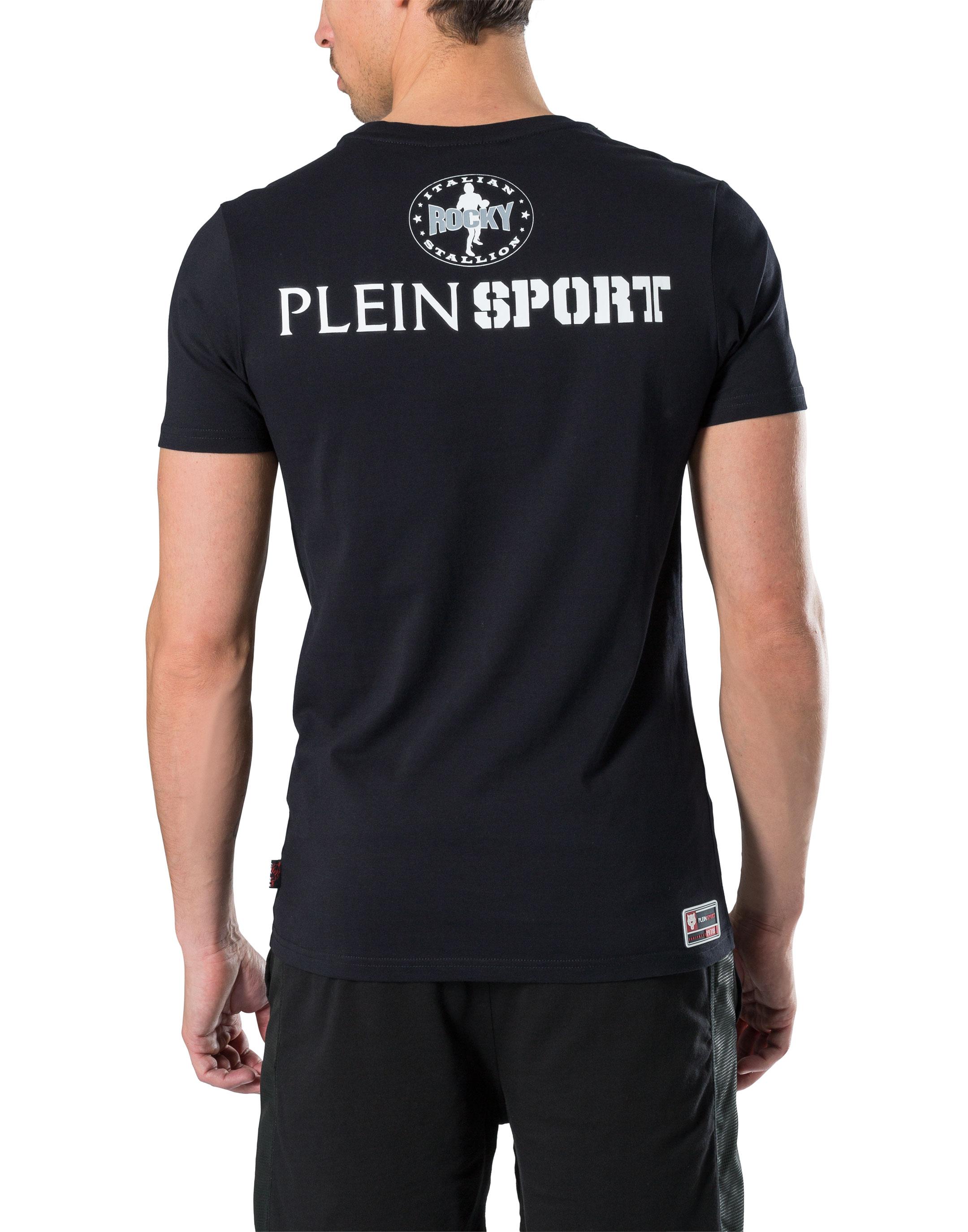 Black t shirt round neck - T Shirt Round Neck Ss Punch