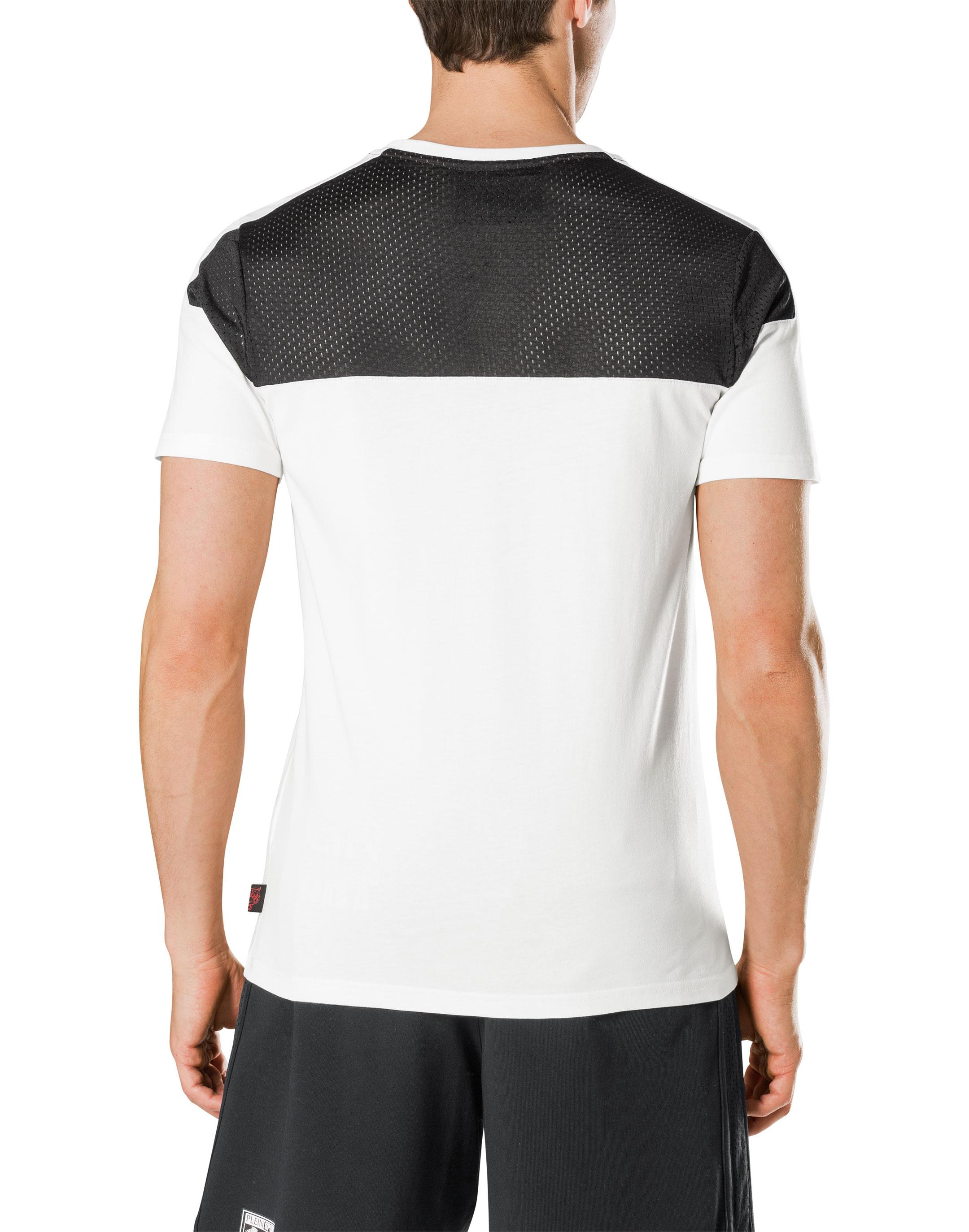 Black t shirt round neck - T Shirt Round Neck Ss The Ring