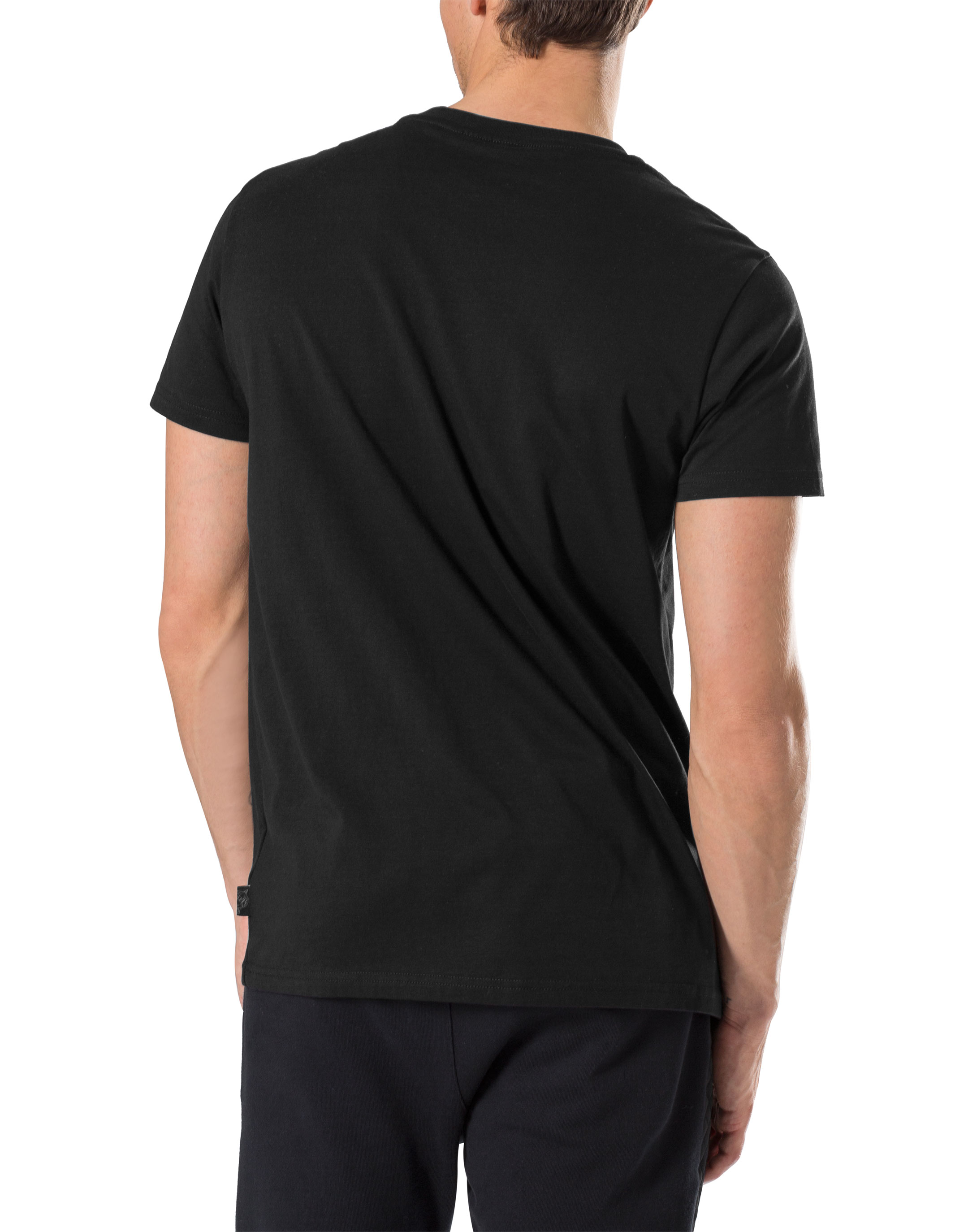 Black t shirt round neck - T Shirt Round Neck Ss Football