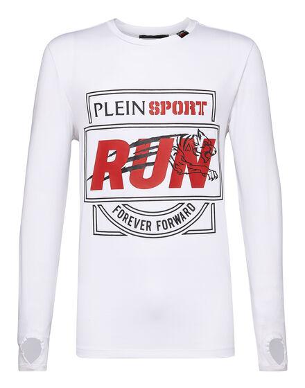 T-shirt Round Neck LS Run