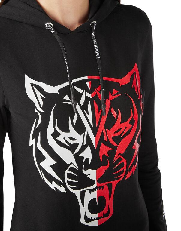 Hoodie sweatshirt Tiger