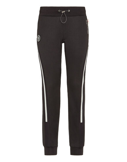 Jogging Trousers Jump Over