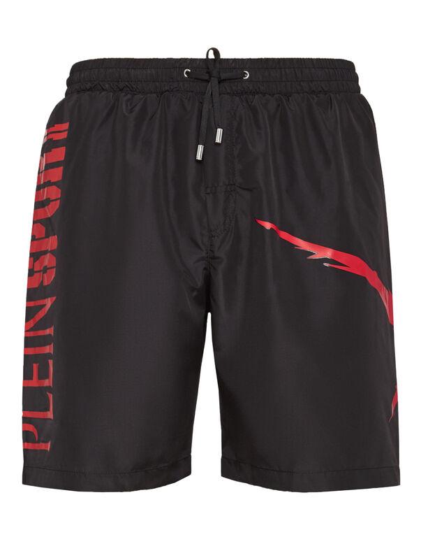 Boxer long beachwear Tiger jump