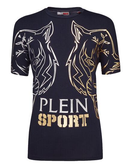 T-shirt Round Neck SS Gold sport