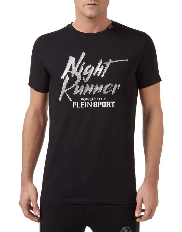 T-shirt Round Neck SS Night runner