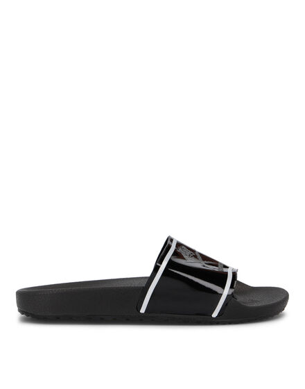 Sandals Flat BLACK SOUL