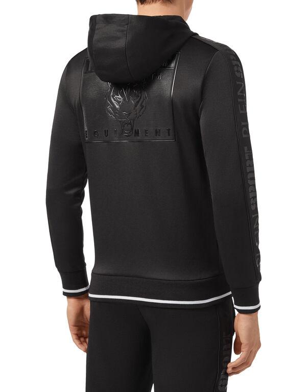 Hoodie Sweatjacket Metal Sport