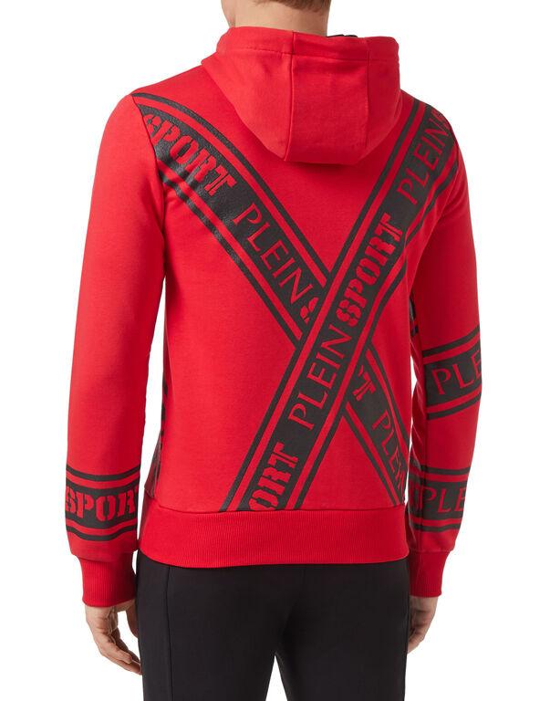 Hoodie sweatshirt Stripes