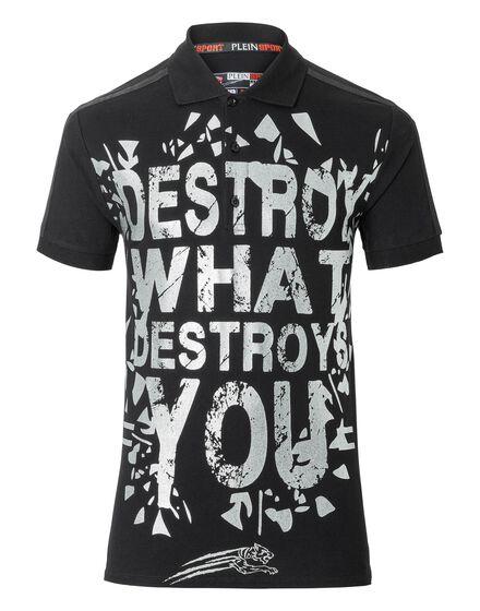 Polo shirt SS Destroys