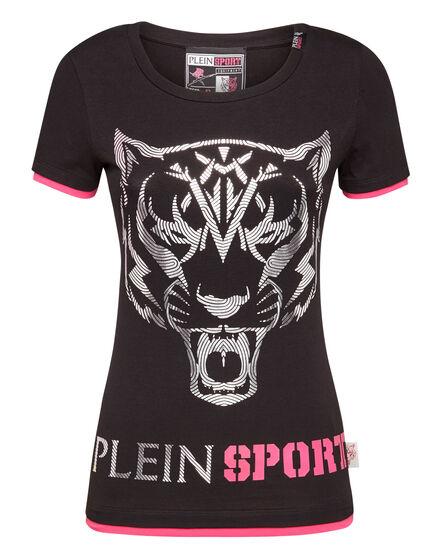T-shirt Round Neck SS Big Tiger