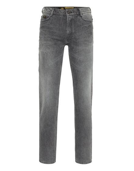 Denim Trousers  Regular fit Scratch