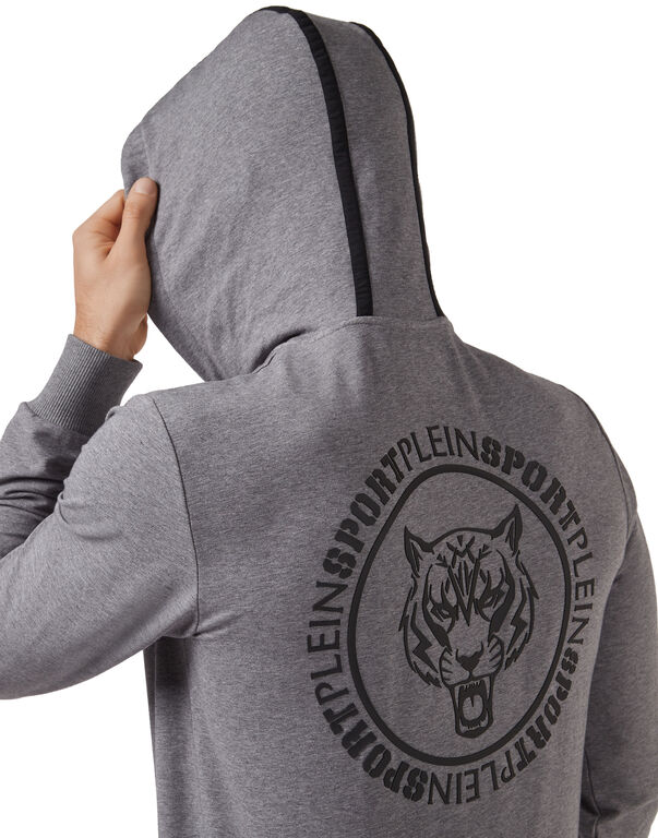 Hoodie Sweatjacket Tiger