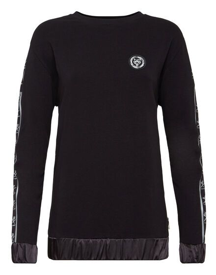 Sweatshirt LS Cross Tiger