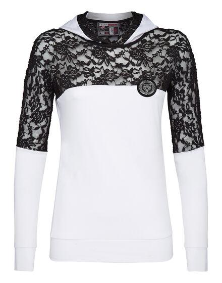 Hoodie sweatshirt Lace