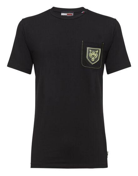 T-shirt Round Neck SS Tiger pocket