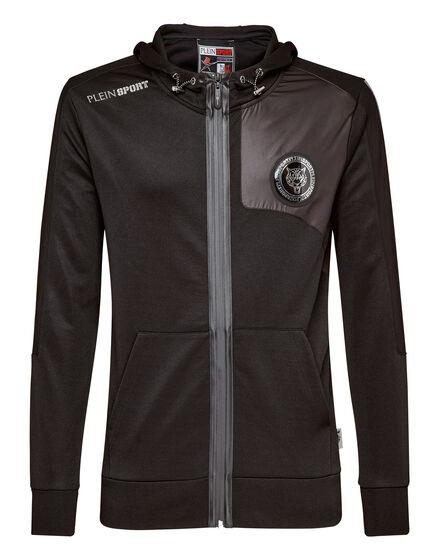 Hoodie Sweatjacket Black version
