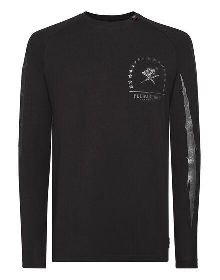 T-shirt Round Neck LS Logos