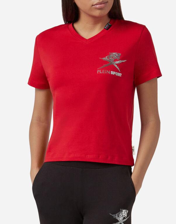 T-shirt Round Neck SS Tiger jump
