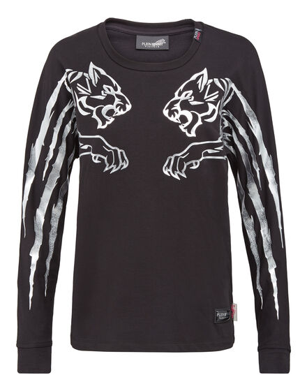 T-shirt Round Neck LS Central Tiger