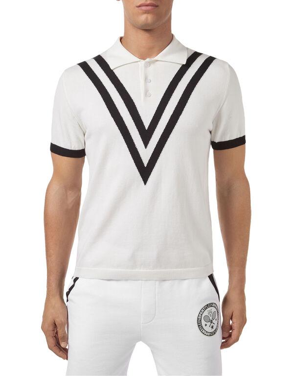 Pullover Polo-Neck SS Tennis