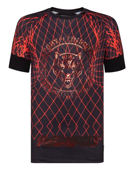 T-shirt Round Neck SS Graphic Plein