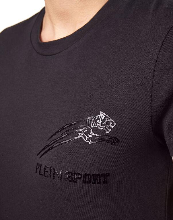 "T-shirt Round Neck SS ""Back Big round Logo"""